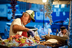 Man in charge (Koberb) Tags: carnival food man festival kentucky deep fried hillbilly pikeville gyro carnie hillbillydays