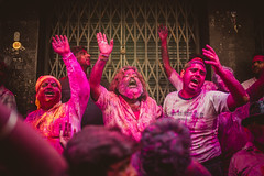 ANATOMY OF HOLI (praveen.padmanabhan) Tags: pink blue red people india yellow festival kids eyes energy colours skin vibrant culture photojournalism documentary powder hues anatomy excitement chennai holi streetfestival vibrance photostory candidphotography incredibleindia royapettah sowcarpet picturemakers