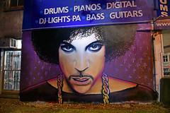 http://flickeflu.com/photos/80568331@N04/interesting (Peter Jennings 17 Million+ views) Tags: street new art rain night paul photography graffiti purple symbol prince peter auckland zealand nz walsh jennings