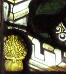 Retford - St Swithun's - Kempe Glass (Glass Angel) Tags: stainedglass nottinghamshire retford kempe stswithun wheatsheafsignature