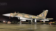 Gina under lights (darrenijames) Tags: night march nikon shoot systems camo eurofighter mm bae f28 typhoon raf eads 2016 2470 coningsby d7200