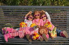 Hurra, der Frhling ist da ... (Kindergartenkinder) Tags: dolls blumen ostern schloss landschaft annette frhling tulpen tivi milina herten himstedt annemoni kindergartenkinder sanrike
