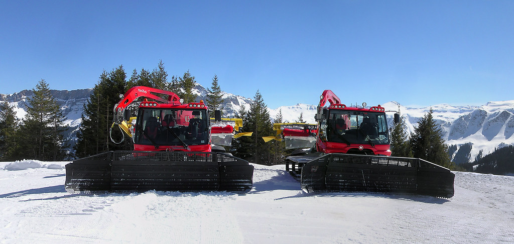 The World's most recently posted photos of alps and pistenbully