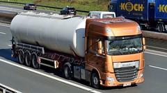 FIN - RL-Trans >67< DAF XF 106.440 SSC (BonsaiTruck) Tags: truck silo 106 lorry camion trucks bulk lastwagen daf lorries lkw xf ffb citerne lastzug silozug feldbinder powdertank rltrans