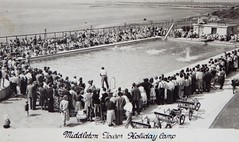 Middleton Tower Holiday Camp, Nr Morecambe (trainsandstuff) Tags: middletontower holidaycamp heysham morecambe pontins postcard vintage swimming swimmingpool pool