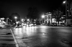 intersection (122) (Beau Finley) Tags: blackandwhite bw mist monochrome rain fog night washingtondc dc districtofcolumbia nw connecticut ave 365 porter clevelandpark connecticutavenue beaufinley project365 nwdc porterstreet