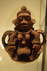 pot in the form of a pregnant woman, Edo people, Benin, Nigeria (Mr. Russell) Tags: africa england woman london pot nigeria benin britishmuseum edo