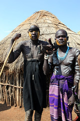 Popoli della valle dell'Omo: I Mursi. (vincenzovacca) Tags: mursi etiopia popolidellafrica antropologiamursi popolidellavalledellomo