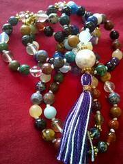 #8 (innerjewelz@rogers.com) Tags: handmade traditional jewelry jewellery meditation custom mala 108 mantra intention knotted japamala innerjewelz