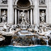Trevi Fountain (prior to restoration), Rome