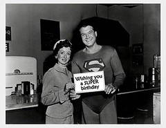 Superman Happy Birthday (Michael Vance1) Tags: sf fiction tv superman adventure superhero sciencefiction loislane
