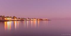 Dahab at night, Egypt (Ahmed Dardig) Tags: travel trees sea night landscape photography dahab redsea egypt explore southsinai