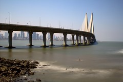 Bandra Worli Sea Link (Kumar Appaiah) Tags: bridge sea link mumbai bandra worli sealink bwsl