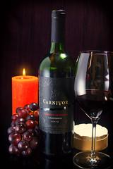 Carnivor Weintest (Fire Eaters BBQ) Tags: test wein carnivor rotwein weintest