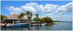 The Getaway Tiki Bar - St Petersburg, Florida (lagergrenjan) Tags: st bar boats florida getaway petersburg tiki blvd gandy