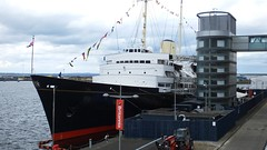 Royal Yacht Britannia 01 (byronv2) Tags: sea water port docks river coast scotland boat dock edinburgh ship harbour yacht vessel coastal northsea maritime leith royalyacht britannia firthofforth riverforth royalyachtbritannia edimbourg portofleith rnbforth