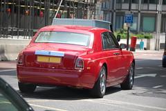 14 Million Number Plate (D's Carspotting) Tags: red london 1 united kingdom plate rollsroyce number million phantom saeed khouri i 14 20100627