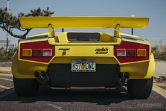 _MG_9993 (KenzoSmithPhotography) Tags: park new beach wheel yellow circle tire shore round jersey asbury rim hubcap lamborghini 1990 90s countach lambo