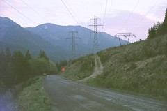 80750014 (aspininaspiritcar) Tags: sunset summer sky mountain snow film clouds oregon 35mm pass rangefinder yashica mounthood lolopass