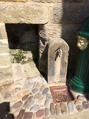 On Tap (Munki Munki) Tags: hydrant drain tap cobbles robinhoodsbay nyorkshire greenandgold gildedlionhead