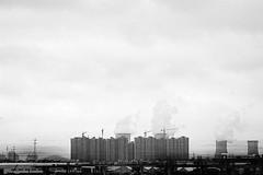 hopeYouAreNotLonely (niK10d) Tags: snow skyline clouds movement cranes hangzhou powerplant vapor eddievedder constructions nd09 pentaxk10d 31mmf18limited