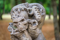Art (ruimc77) Tags: city cidade sculpture macro art ex mxico mexico nikon df dof arte bokeh sigma ciudad 11 os escultura coyoacan dg coyoacn viveros 105mm hsm d810