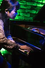 Satoko Fujii live at Cortez, Mito (Japan), 28 Apr 2016 -1000068 (megumi_manzaki) Tags: musician piano jazz improvisation pianist freejazz