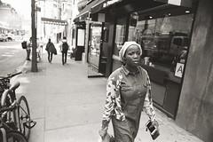 AA009 (heavyasmountains) Tags: nyc newyorkcity blackandwhite slr film 35mm photography nikon candid streetphotography noflash 24mm fm3a filmphotography streetstyle
