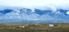 Earthship community outside Taos (prairiegirrl) Tags: newmexico taos earthships landofenchantment offthegrid