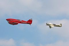 Shuttleworth Uncovered Airshow 2015 (Andrew-M-Whitman) Tags: de gull airshow comet shuttleworth percival mew 2015 uncovered havilland dh88 gacss gaexf