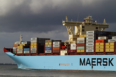MATHILDE MAERSK (angelo vlassenrood) Tags: netherlands canon boot photo shoot ship shot picture nederland vessel cargo container angelo photoshot schip westerschelde walsoorden eos7d mathildemaersk