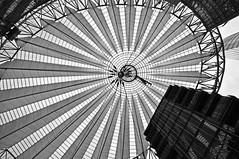 am Potsdamer Platz (lg Fotografi) Tags: bw berlin bn potsdamerplatz sonycenter sw brd