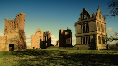 Ghost of Morton Corbet Castle (jeannie debs) Tags: castle shadows ghost haunted