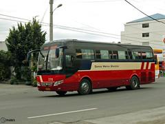 Davao Metro Shuttle 378 (Monkey D. Luffy 2) Tags: road city bus public photography photo coach nikon philippines transport vehicles transportation coolpix vehicle society davao coaches philippine enthusiasts yutong yuchai philbes zk6107ha