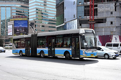 Beijing Bus 95388 (trolleybus) (Howard_Pulling) Tags: china camera bus buses photo airport nikon asia photos beijing picture zug trains april cr 2016 pek beijingrailwaystation chinarailways beijingcapital howardpulling d7200