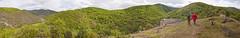 Slatinsko Panorama (rante_to4ak) Tags: road trees people panorama mountains green church nature village view hike macedonia poles caving brod reka makedonija mazedonien makedonski slatinsko