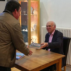 Vince Cable Hexham 2 (ianwyliephoto) Tags: afterthestorm northumberland novel vincecable hexhambookfestival