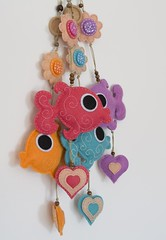 Felt fish mobile/ornament (suyi smuyi) Tags: fish mobile handmade felt ornament decor embroidered suyika