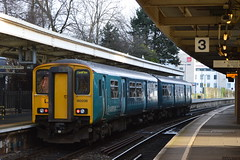 150236, Cardiff Queen Street (JH Stokes) Tags: photography transport cardiff tracks trains railways queenstreet trainspotting sprinters dmu atw arrivatrainswales class150 dieselmultipleunits class1502 150236