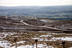 View from Hartside car park 1 (allybeag) Tags: road snow cafe view valley winding pennines hartside