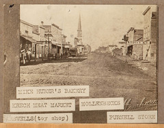 Early Street Scene, with Labels