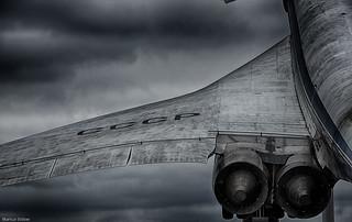 TU-144 Wing