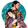 *** (Besia-natka) Tags: leaves japan tattoo maple cg autodesk picture sketchbook shiki kimono katana yakuza irezumi murashima