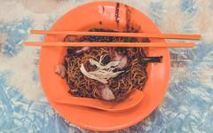 09:55 (rowanallen) Tags: street food orange chicken cuisine soup sticks plate spoon meat malaysia chop noodles matching veg cutlery hawker
