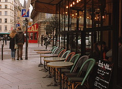 Un cafecito (ragolf  ) Tags: winter people paris france streets canon