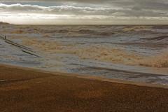 ROUGH SEA (skysthelimit333) Tags: sea coast seaside lancashire cleveleys irishsea lancashirecoast lancashirecoastline