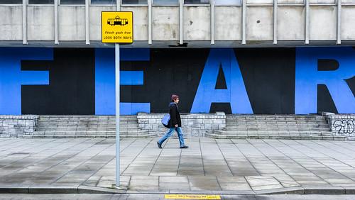 FEAR - Dublin, Ireland - Color street photography