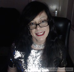 Feb 2016 (emilyproudley) Tags: crossdresser cd tv tvchix tranny trans transvestite transsexual tgirl tgirls convincing dress feminine girly cute 2016 sexy sequin sequins glasses pretty smile transgender xdresser gurl