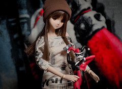 Photo-Shoot wint Mirai (james.mannequindisplay) Tags: smart toys doll harley choo quinn danny figures mirai smartdoll