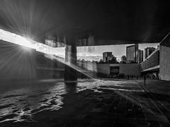 The Fountain on Sunset -Museo Nacional de Antropología- (Mexico City. Gustavo Thomas © 2016) (Gustavo Thomas) Tags: blackandwhite blancoynegro fountain monochrome museum mexico mexicocity fuente musée mexican museo mexicano bnw biancoenero distritofederal antropología blancetnoir ciudaddeméxico monocromático